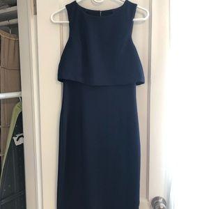 Trina Turk Navy Blue Dress - Size 0